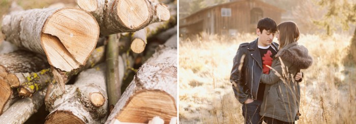 Erin & Jason's Galiano Island Engagement Session