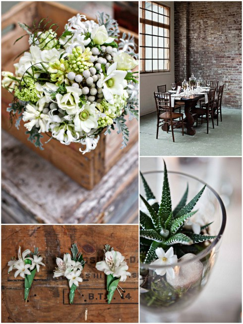 garden-inspired flowers by Nghia Diep of Blumen Floral Boutique