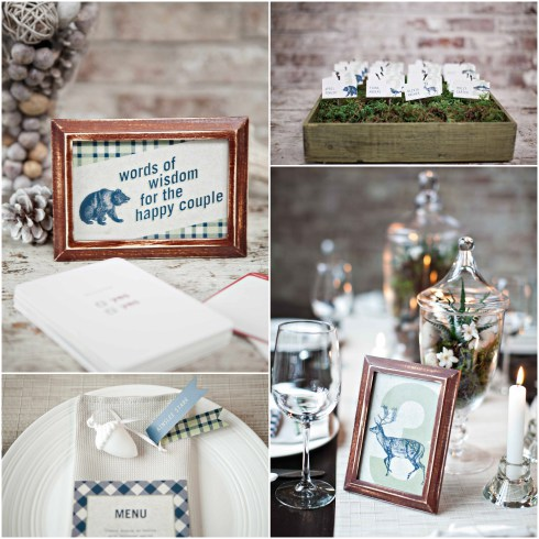 Revel Events Rustic Canadiana Styled Shoot