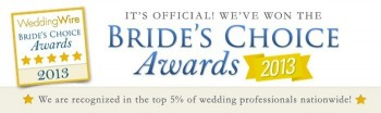 Wedding Wire Bride's Choice 2013